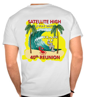 We Specialize In High School Reunions With A Special Package For Reunion  Committees. You Supply The Design Or We Can Custom Design One For You, ...